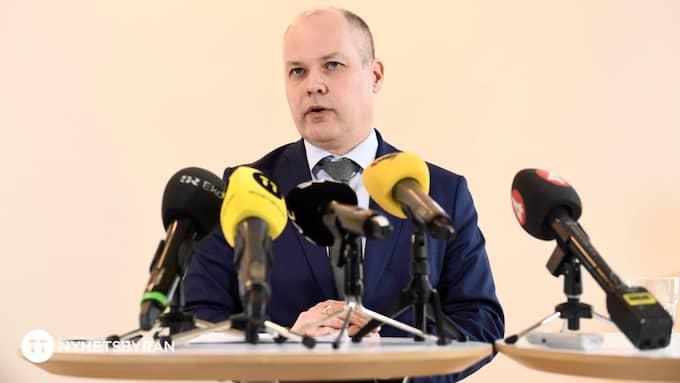 Justitieminister Morgan Johansson. Foto: PONTUS LUNDAHL/TT / TT NYHETSBYRÅN