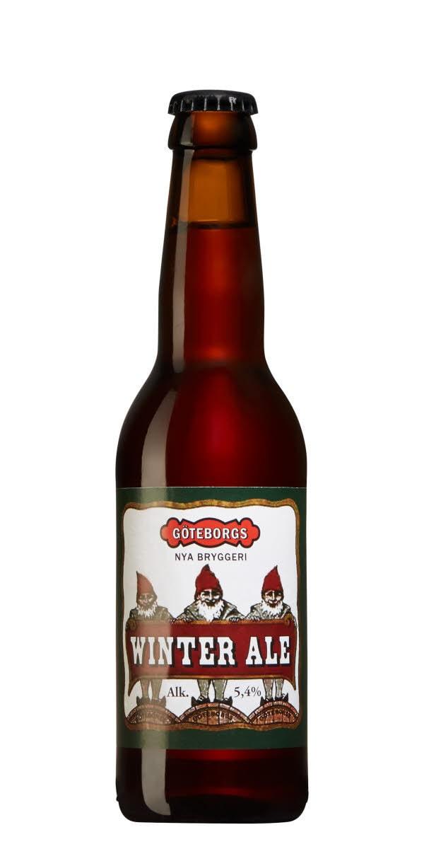 Göteborgs Winter Ale, nr 11309, 24,70 kronor.