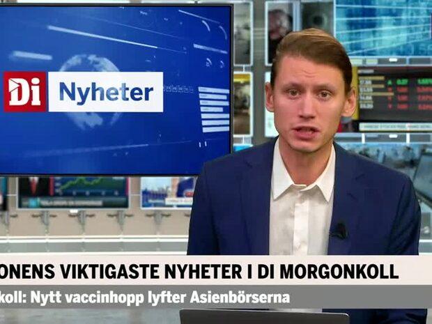 Di Morgonkoll: USA kan börja vaccinera andra veckan i december