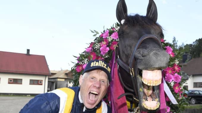 Stefan Melander och Nuncio. Foto: Simon Hagen/stalltz