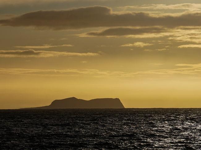 Ön Surtsey i Islands skärgård.