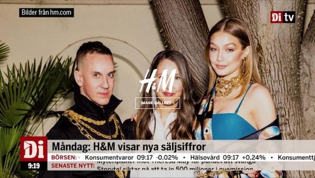 Aktiecaset: H&M visar nya säljsiffror