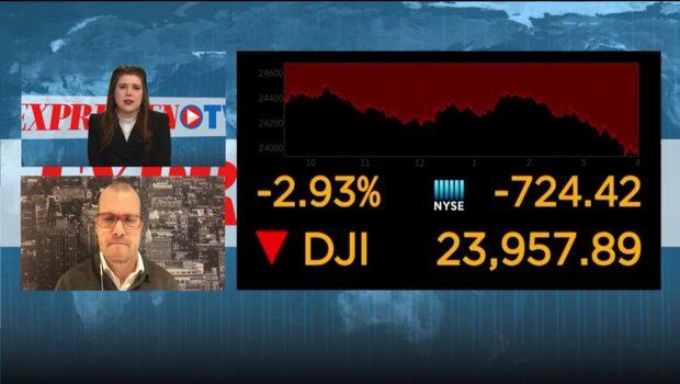 Efter Trumps hot om handelskrig – Dow Jones faller