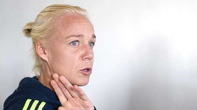 Caroline Seger. Foto: CARL SANDIN / BILDBYRÅN
