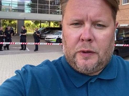 """Fredrik Sjöshult: """"Väldigt speciell stämning i rättssalen"""""""