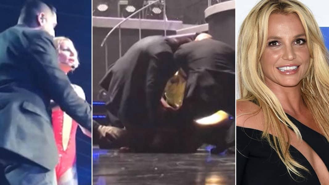 Britney tvingas anvanda bh