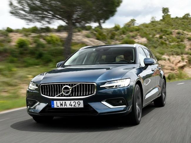Efter förra årets seger var Volvo S/V60 Volvos stora hopp i Årets bil-tävlingen.
