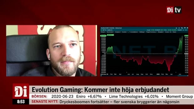 Richard Bråse: Ett smart drag från Evolution Gaming