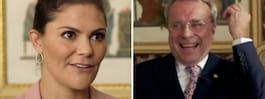 Tv-profilens vågade fråga till Victoria i tv