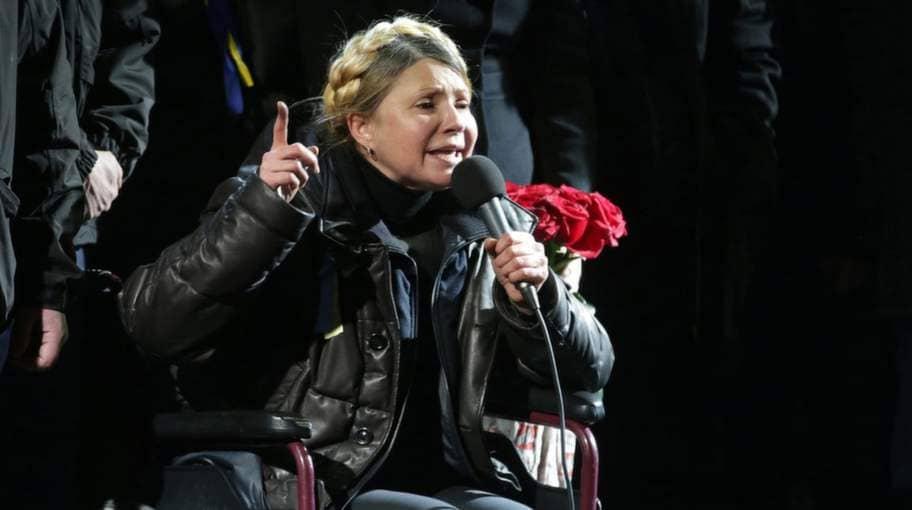 Tymosjenko avgar inte frivilligt