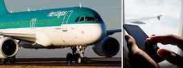 Resenär struntade i flight mode – får betala 3 000