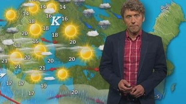 SVT:s Pererik Åberg tillbaka i rutan – efter sjukdomen