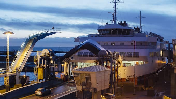 HH Ferries Group har låtit konvertera sina färjor Tycho Brahe och Aurora till batteridrift. Foto: / Photo: Anders Ebefeldt / studio-e.se/HH Ferries Group