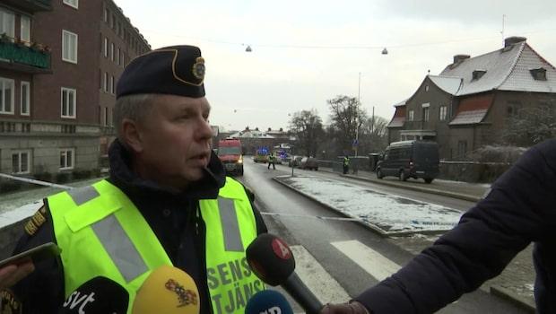 """Polisen: """"Lokalerna tillhör Göteborgs universitet"""""""