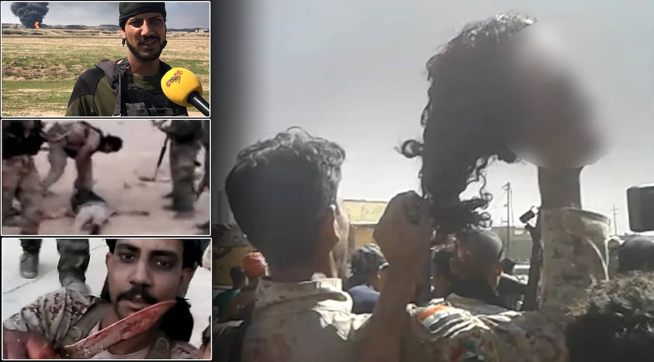 Exclusive footage reveals war crimes in battle against ISIS