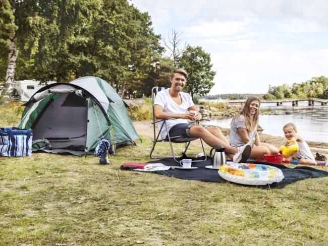 <span>Bo i tält – kan du låna ett så slipper du till och med engångskostnaden.</span>