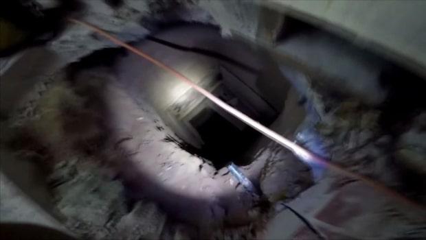 Drogtunnel mellan USA och Mexiko hittad under nedlagd KFC