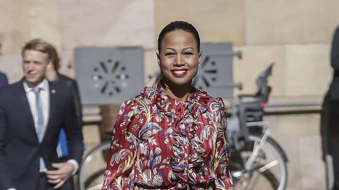 Också Alice Bah Kuhnke får god kritik för sitt klädval Foto: DAVID SICA / STELLA PICTURES