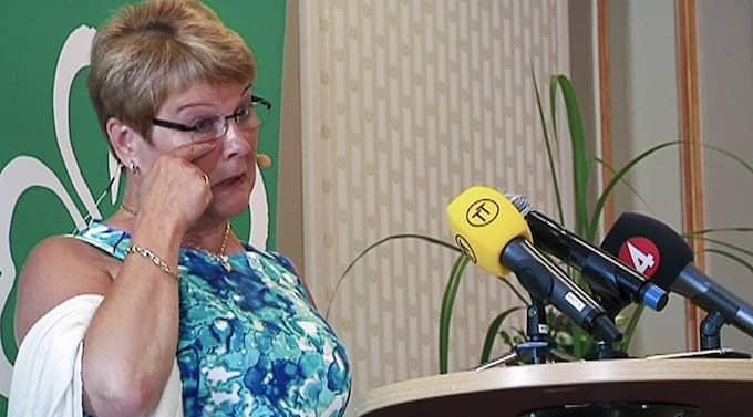 Maud Olofsson lämnar Centerpartiet - och nu pågår kampen om att få efterträda C-ledaren. Foto: Sebastian Lejon/Scanpix
