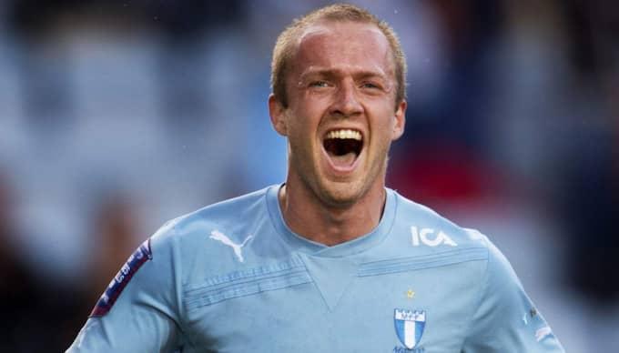 Senaste klubb i Sverige var Malmö FF - och det var inte nära med Blåvitt i somras. Foto: Nils Jakobsson