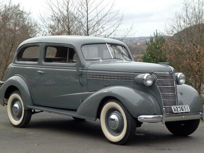Statsministerns gamla tjänstebil. Chevrolet Master Deluxe 6-Cyl.
