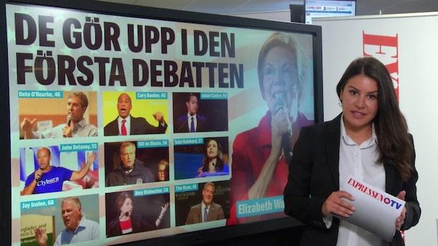 USA: De gör upp i den första debatten