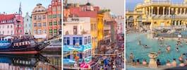 Här är storstäderna som är billigast att resa till i höst