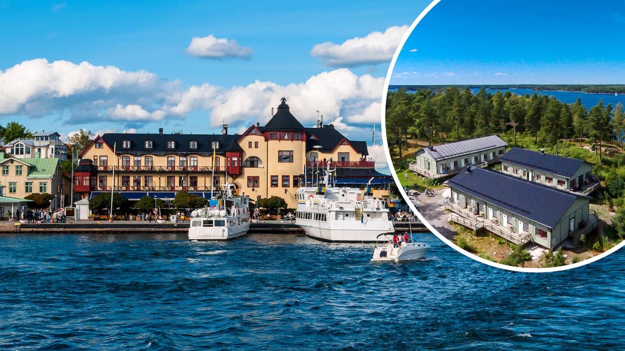 hotell skärgården stockholm