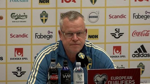 Janne Anderssons hyllning till Alexander Isak