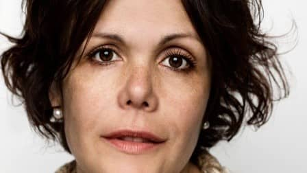 Christina Hesselholdt är nominerad till Nordiska rådets litteraturpris för sin senaste roman. Foto: ROBIN SKJOLDBORG / NOK