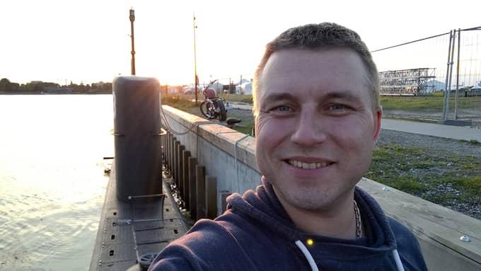Michael Youget från Norge erbjöds sovplats ombord på Peter Madsens ubåt. Foto: Michael Youget
