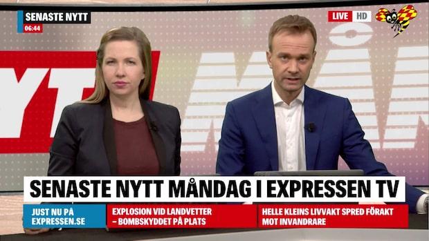 Bilexplosion i villaområde I Göteborg