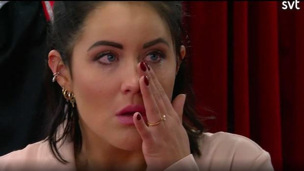 Molly Sandéns tårar i tv efter vidriga berättelsen