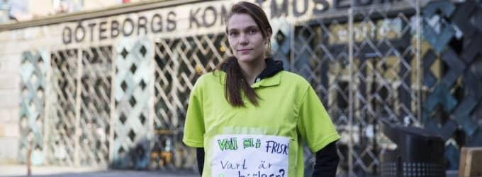 HADE BORRELIA. Katja Alm, 21, fick diagnosen borrelia - efter flera år. Foto: Anders Ylander