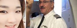 Pilotens tecken upprör avkastad passagerare