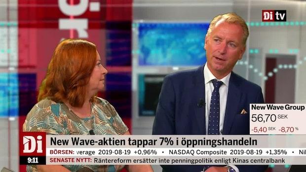 """Olavi om New Wave: """"Den är 8 procent billigare idag än i går"""""""