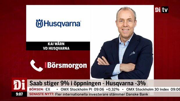 """Kai Wärn, vd Husqvarna: """"Jag ser lite mer positivt på det"""""""