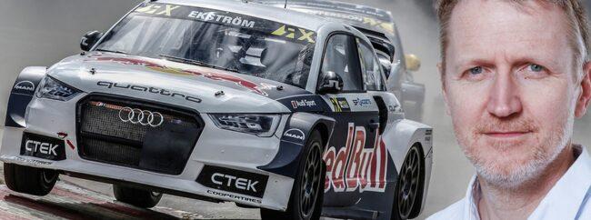 Den här veckan avslöjade Mattias Ekström att han får stöd av Audi för att försöka försvara VM-titeln från ifjol.