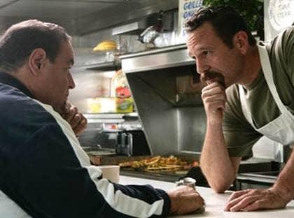 Joseph Gannasoli och John Cestelloe spelade ett kärlekspar i Sopranos.