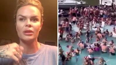 """Miljoner har sett bilderna från poolpartyt: """"Tappade hakan"""""""