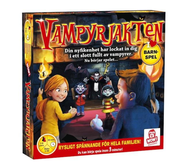 Vampyrjakten – kul spel.