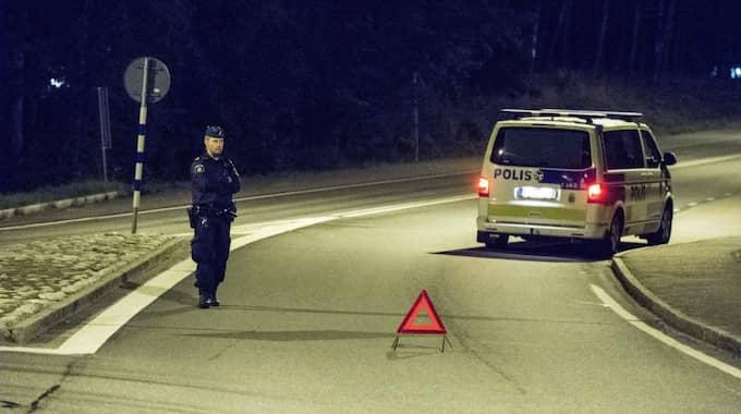 Polisen bedömde att det rådde en hotbild mot boendet, men bedömer nu att de boende kan flytta tillbaka. Foto: Per Knutsson