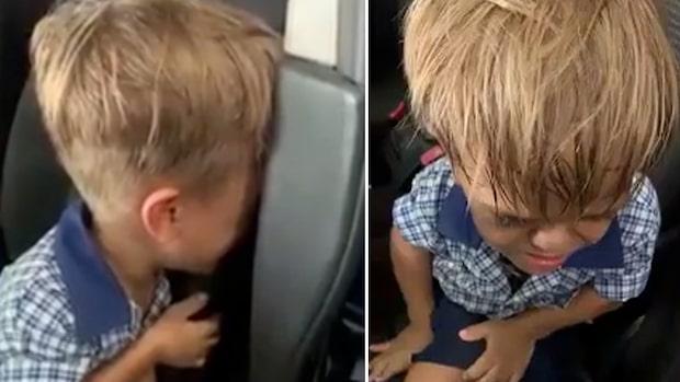 Pojken mobbas i skolan – vill inte leva längre