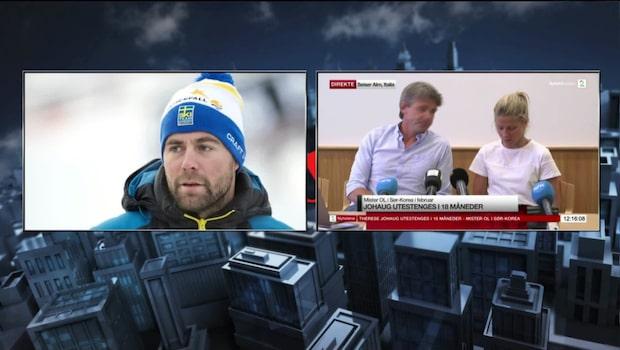 "Grip om Johaug: ""Det blir en tuff resa"""
