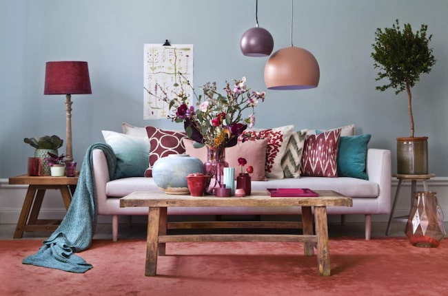 Så fixar du ett trendigt vardagsrum till våren Vardagsrum Expressen Leva& bo