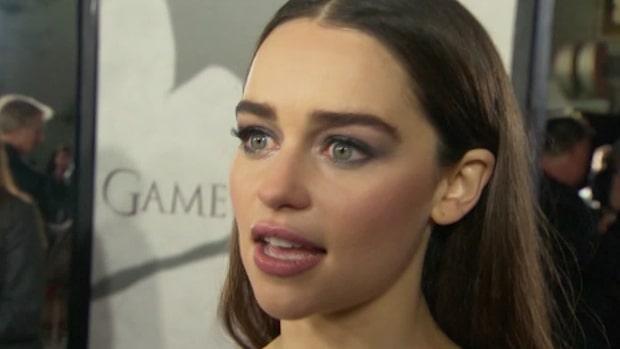 """""""Game of Thrones""""-stjärnan Emilia Clarke om pressen att vara naken"""