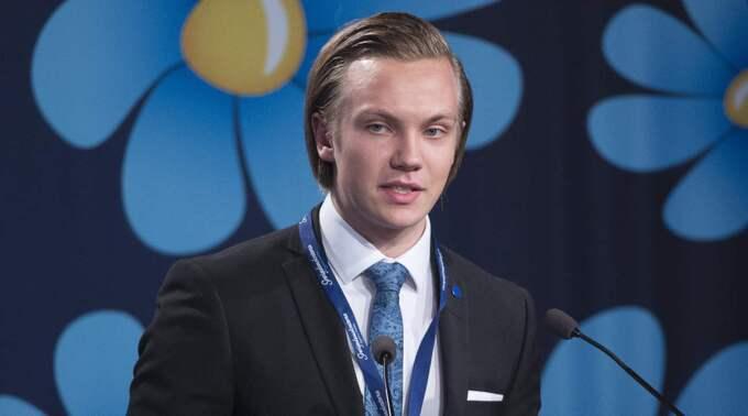 Konventet är det första sedan ledningen bröt med tidigare ungdomsförbundet SDU. Även Tobias Andersson, ordförande för Ungsvenskarna, kommer att tala. Foto: Sven Lindwall