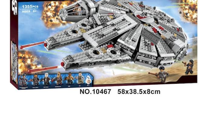 Så här kan Belas produkter se ut. I annonserna skryter även pirattillverkaren med att bitarna är kompatibla med riktigt Lego. Foto: Bela