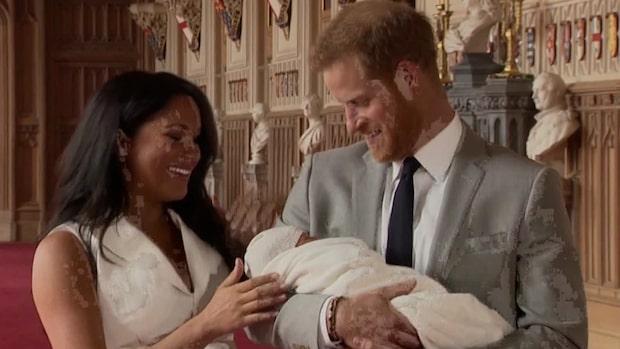 """Meghans babyglädje: """"Har de bästa killarna i världen"""""""