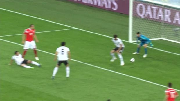 Se alla mål från fotbolls-VM i sportnyheterna - 19 juni
